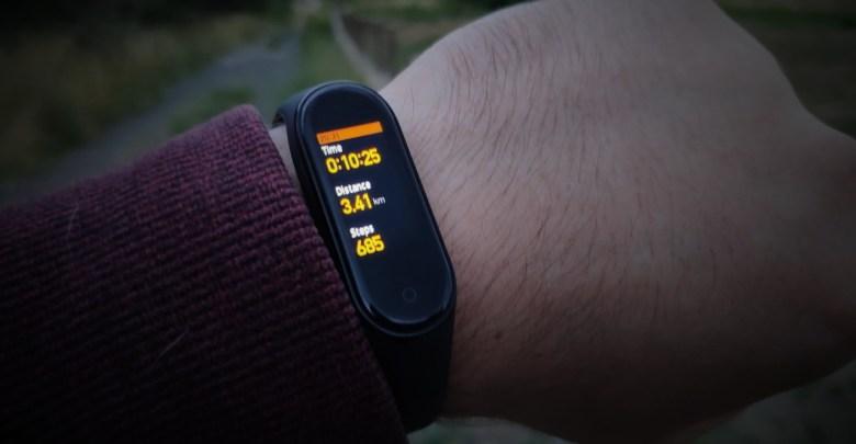 Xiaomi Mi Band 4 fitness naramok