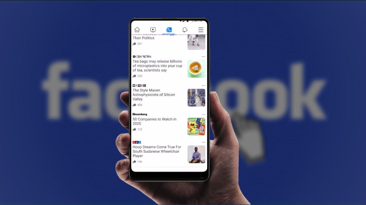 Facebook spravy
