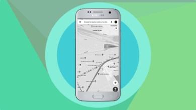 Google Maps Tmavy rezim