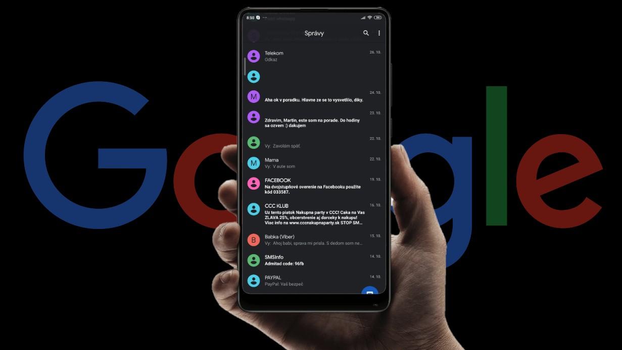 Google RCS spravy (1)