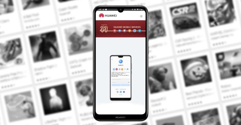Huawei App Gallery obchod s aplikaciami Huawei