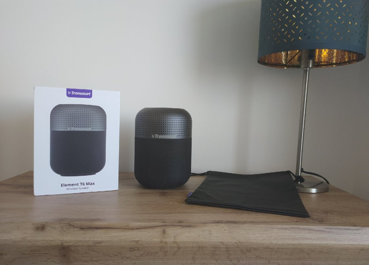 Recenzia na Bluetooth reproduktor Tronsmart T6 Max balenie
