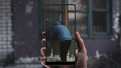 bezpecnostna kamera z android smartfonu