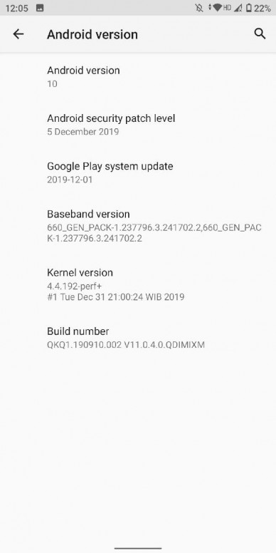 Xiaomi Mi A2_Android 10_3