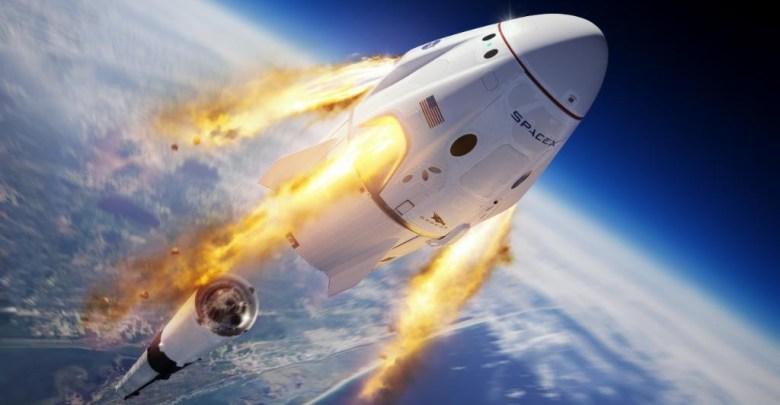 spaceX testovanie rakety