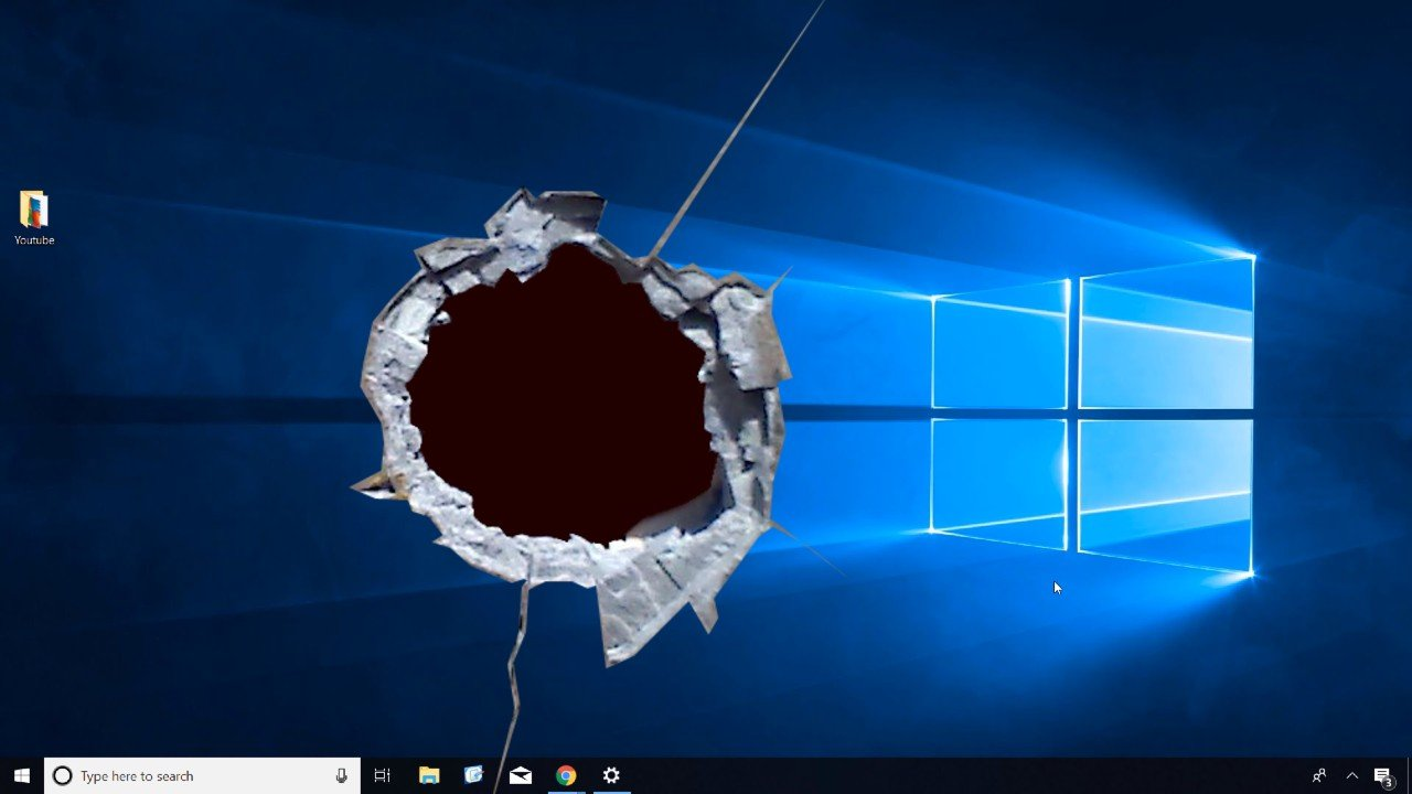 Windows 10 chyba