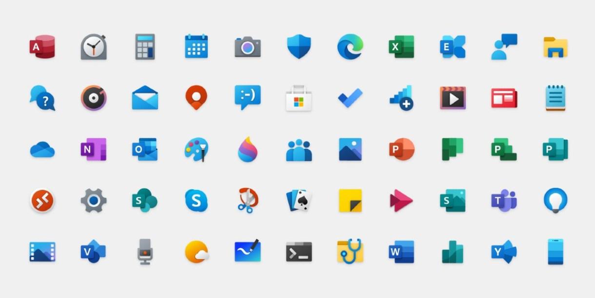 Windows 10 novy dizajn ikoniek