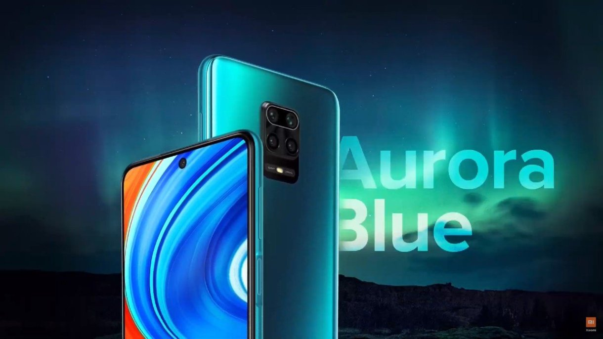 Redmi Note 9 Pro_aurora blue