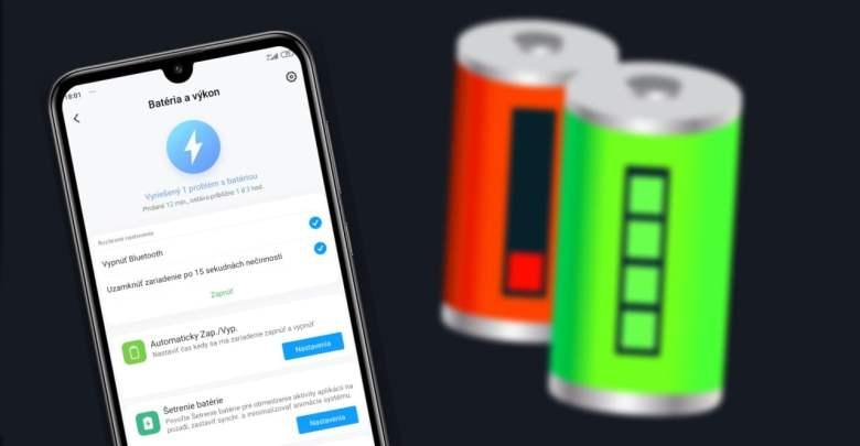 Xiaomi skryte menu bateria