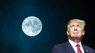Donald Trump tazba surovin na Mesiaci