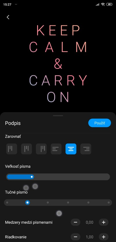 MIUI 11_Always on displaj_podpis_nastavenia_1