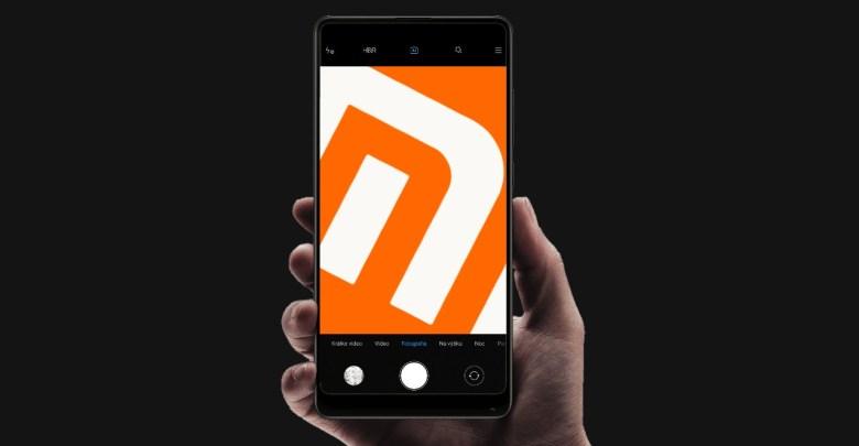 Xiaomi rozhranie kamery