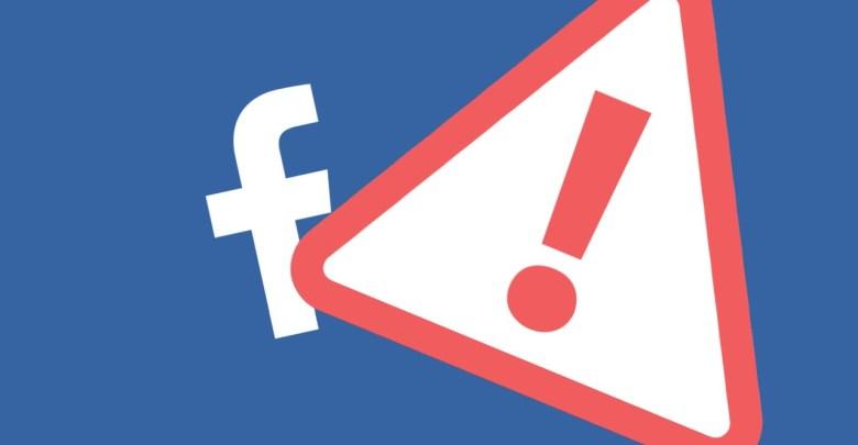 facebook upozornenie