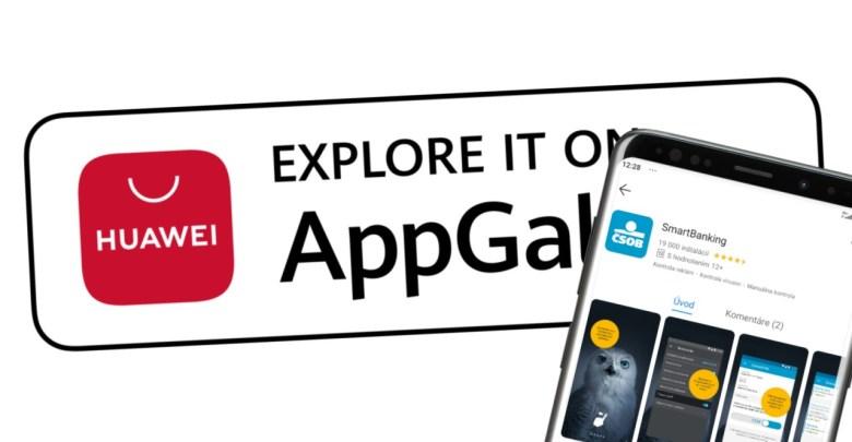 App Gallery CSOB