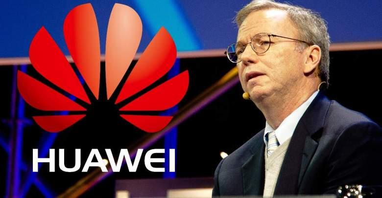 Eric Schmidt sa vyjadruje k Huawei