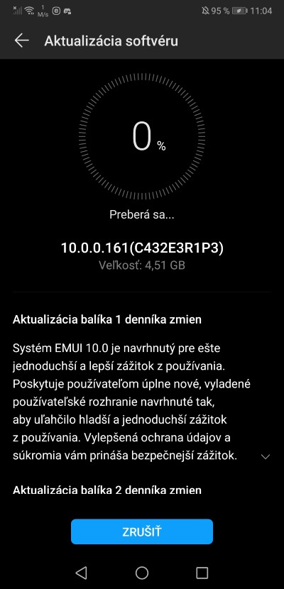 Huawei P20 Pro_Android 10_Slovensko_2