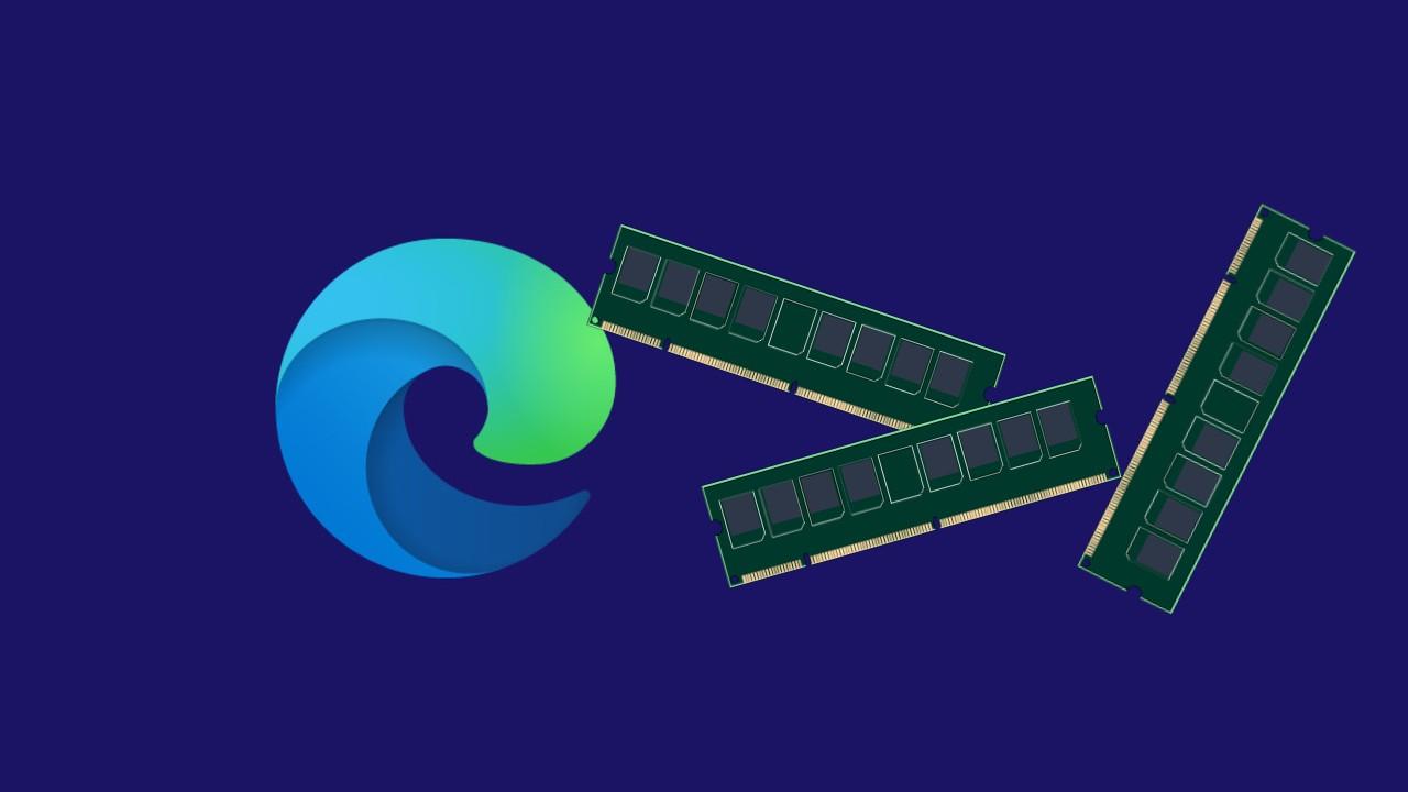 Microsoft Edge RAM pamat
