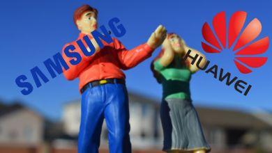 Samsung a Huawei