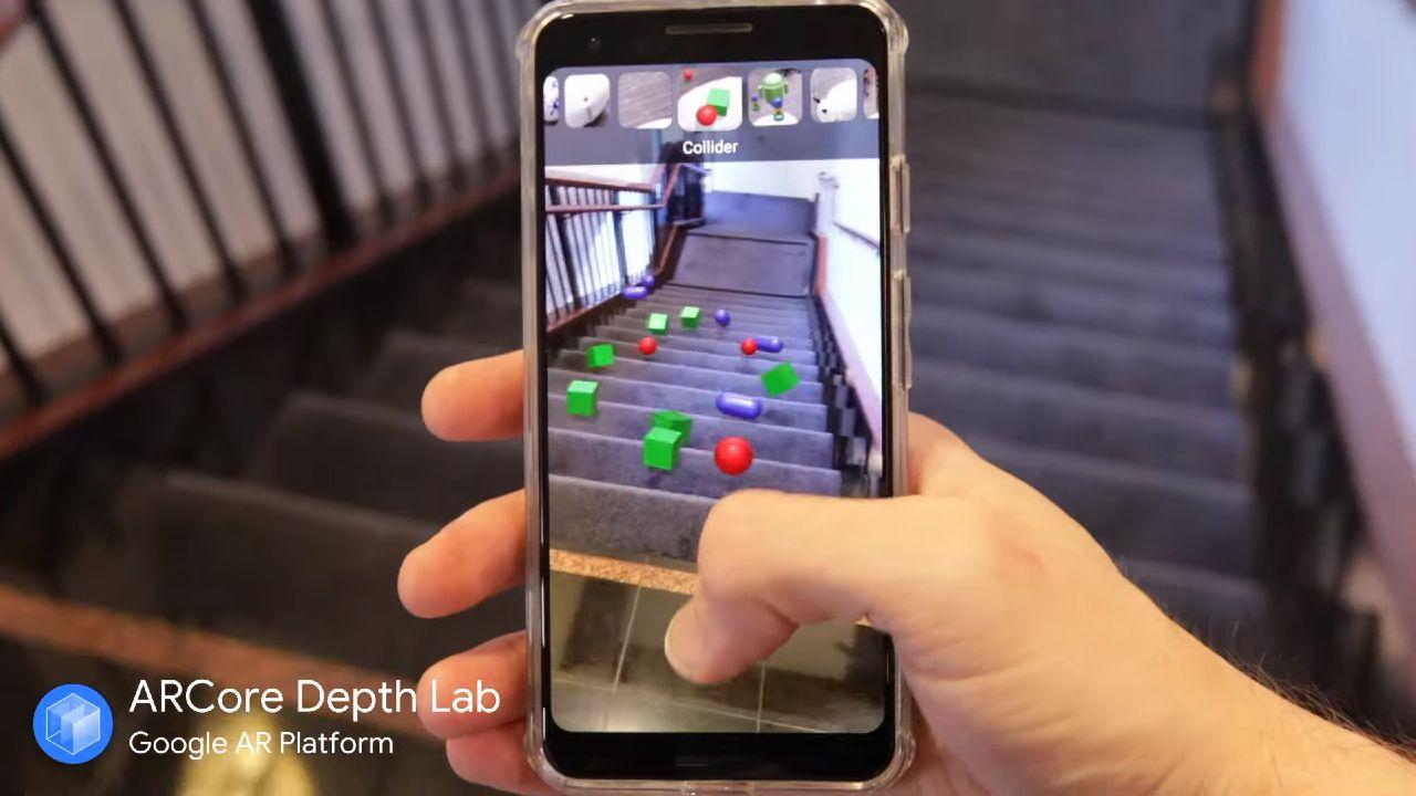 Google ArCore_rozsirenia realita pre Android