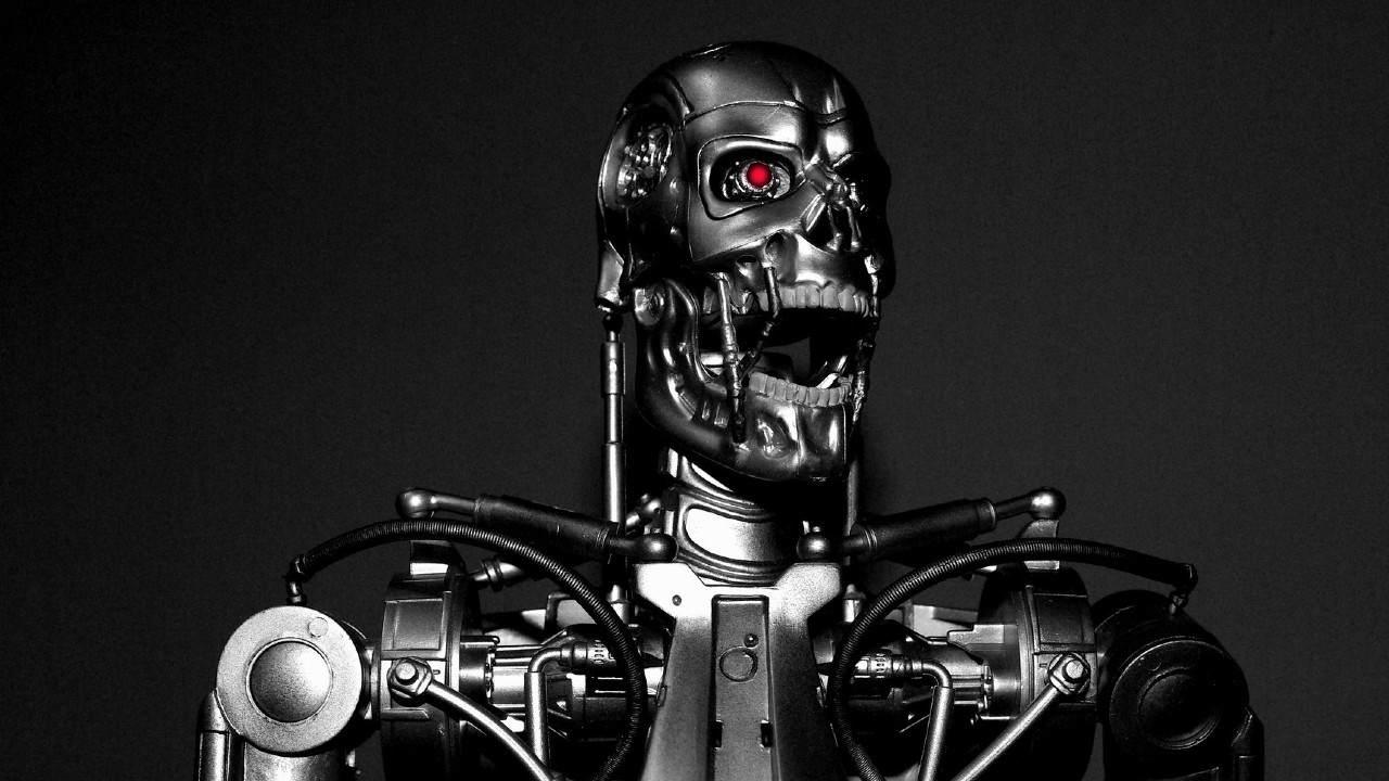 Robot AI technologia