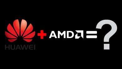 Huawei a AMD spolupraca