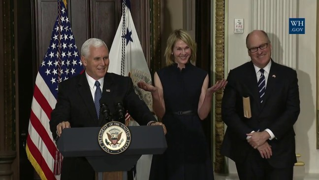 Vice President Pence Swears in US Ambassador to Canada Kelly Knight Craft
