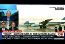 PRESIDENT HEADING TO TEXAS TO VISIT HURRICANE DAMAGE ON CNN