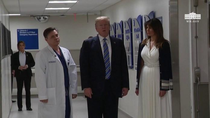 President Trump Delivers Remarks at Broward Health North Hospital