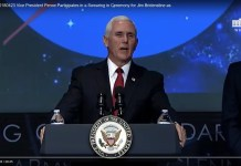 Vice President Pence Participates in a Swearing-in for Jim Bridenstine as Administrator of NASA