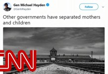 Ex-CIA chief compares family separations to Nazis