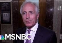 Sen. Bob Corker Gets The 'Last Word' On President Donald Trump Trade Folly | The Last Word | MSNBC