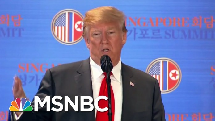 Trump Praises Kim Jong Un After Nuclear Summit And Attacks His Critics | The 11th Hour | MSNBC