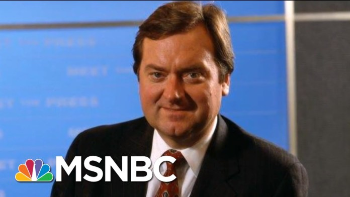 Remembering Tim Russert And His 'Meet The Press' Legacy | MTP Daily | MSNBC