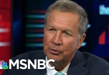 John Kasich: President Donald Trump's Family Separation Policy Is 'Insane' | The 11th Hour | MSNBC
