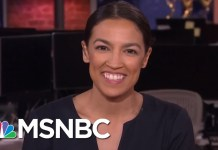 Alexandria Ocasio-Cortez: Incumbent Candidates Are Not 'Entitled' To Their Seats | MTP Daily | MSNBC
