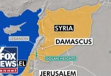 Israeli military shoots down Syrian plane