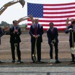 President Trump Participates in the Foxconn Groundbreaking Event