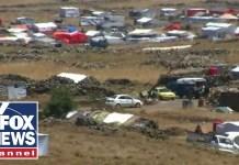 Syrian refugees flood Israel-Syria border