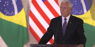 Vice President Mike Pence Meets with the President of Brazil