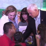 Vice President Mike Pence Visits Venezuelan Refugees