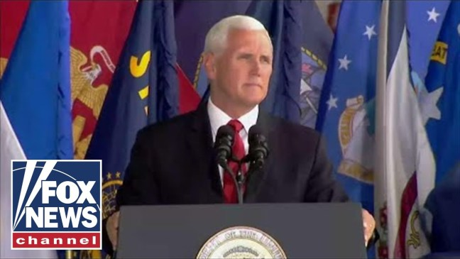 Pence on Korean War remains: Our boys are coming home