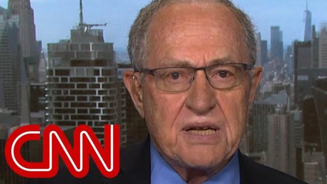 Dershowitz: Don't fire Rosenstein, make him testify under oath