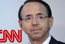 Fate of Rosenstein, Russia investigation unclear