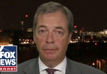 Nigel Farage reacts to Trump trading barbs with Iran