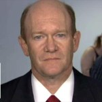 Sen. Coons on grilling Kavanaugh over presidential powers