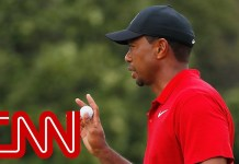 Tiger Woods reflects on first tournament win in 5 years