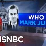 Who Is Mark Judge?   Velshi & Ruhle   MSNBC