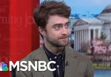 Facts Matter In Daniel Radcliffe's New Play | Morning Joe | MSNBC