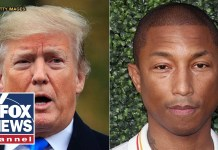 Pharrell sends Trump cease-and-desist letter for 'Happy'