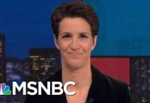 Donald Trump Sharing Sensitive Info On Insecure Phone Worries U.S. Intel | Rachel Maddow | MSNBC